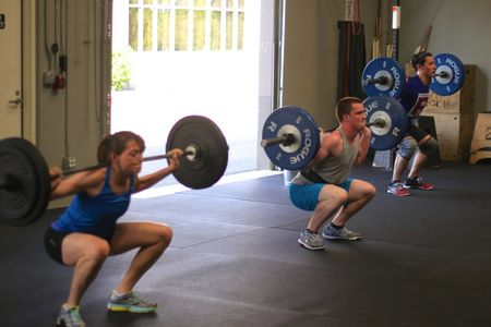 Back Squat Conditioning