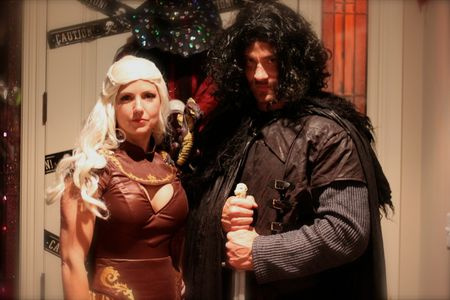 Danaerys and Jon Snow