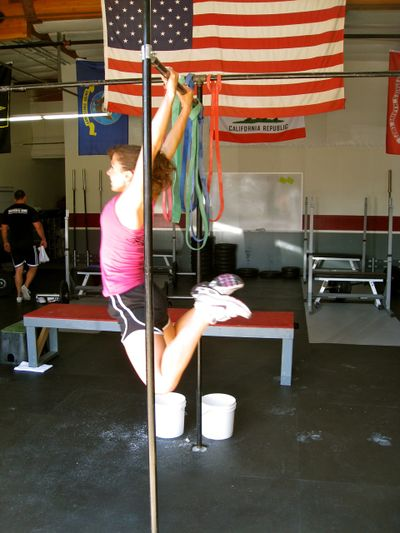 Michelle Flag Pull-up at CFC