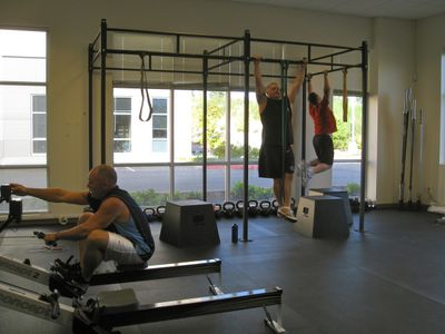 Pull-ups and Rows