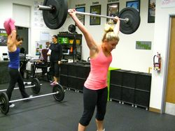 Jess_Power Snatch WOD_lulu