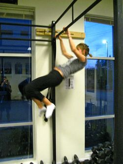 Fran 1st Pull-up - 1