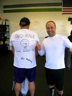 SnoRage 1 WOD Club Shirt