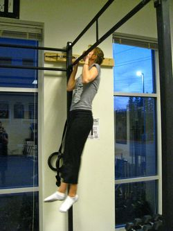 Fran 1st Pull-up - 2