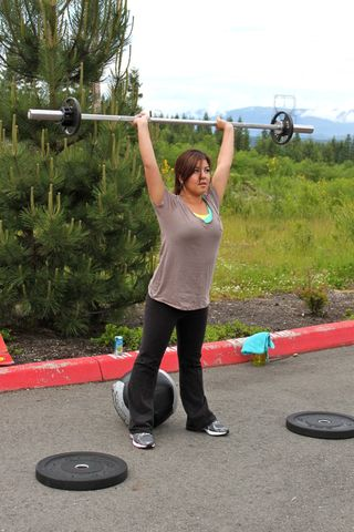 Mary_Thruster 1st Group WOD