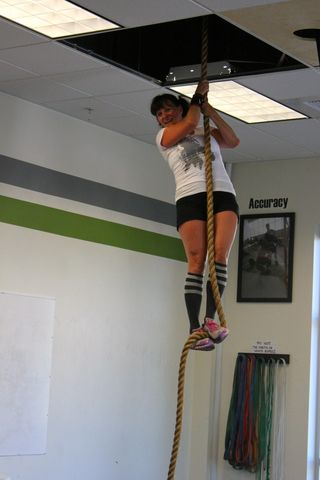 Lucy Rope Climb