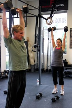 DB Push Press_John and Adriana