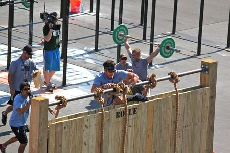 Froning racing to finish