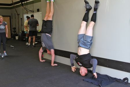 Headstand Push-up