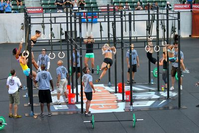 CF Games 3-2-1 Muscle up