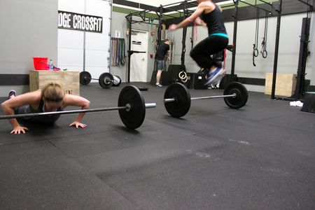 Bar Facing Burpees