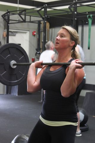 Heidi_Power Cleans