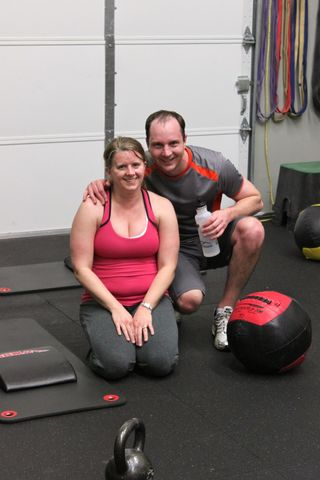 Post Birthday WOD_Karrie and Josh