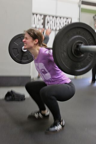 Rona_Back Squats