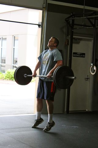 Nate_Power Cleans