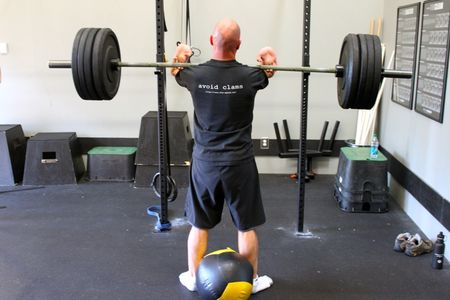 Willy Front Squat