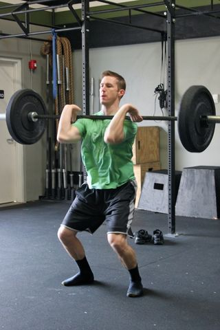 Spencer Hang Power Clean