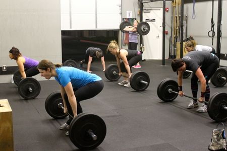 Power Cleans and Burpees