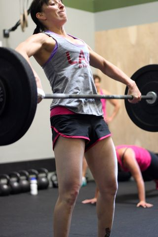 Lisa C_Power Snatch