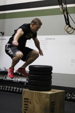 Spencer Max Box Jump