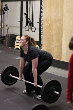 Christa F_Power Clean - 1