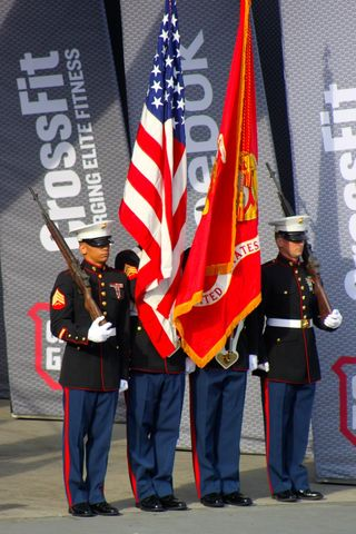 USMC Colorguard_Games