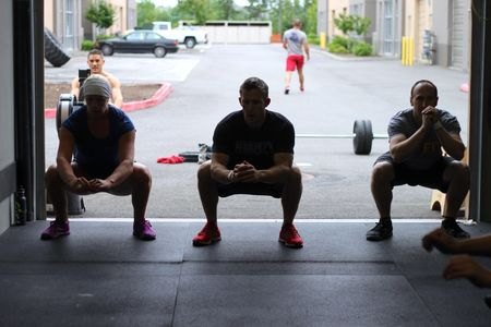 Knees out and deep squats