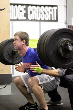 Squat PR No Hands