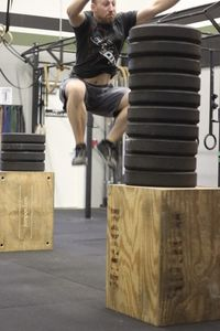 Rob World Record Box Jump - 2