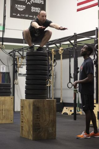 Rob World Record Box Jump - 3