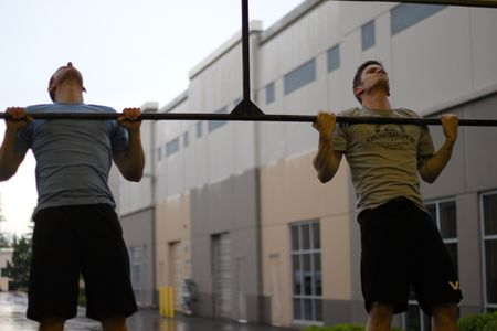 Strict Chest-to-bal pull-up