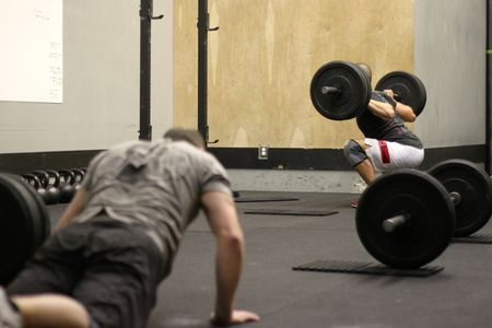 Burpees and Back Squats