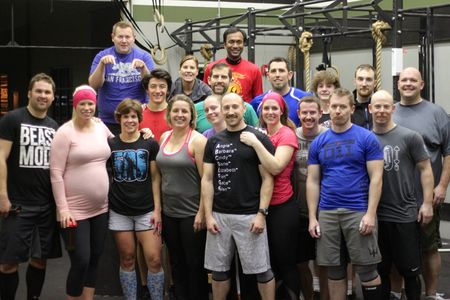 Deb Bday and 500 WOD Crew