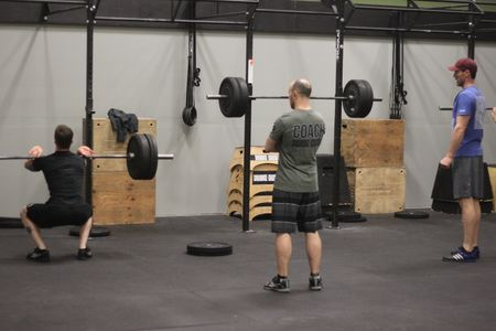 Coaching Front Squats