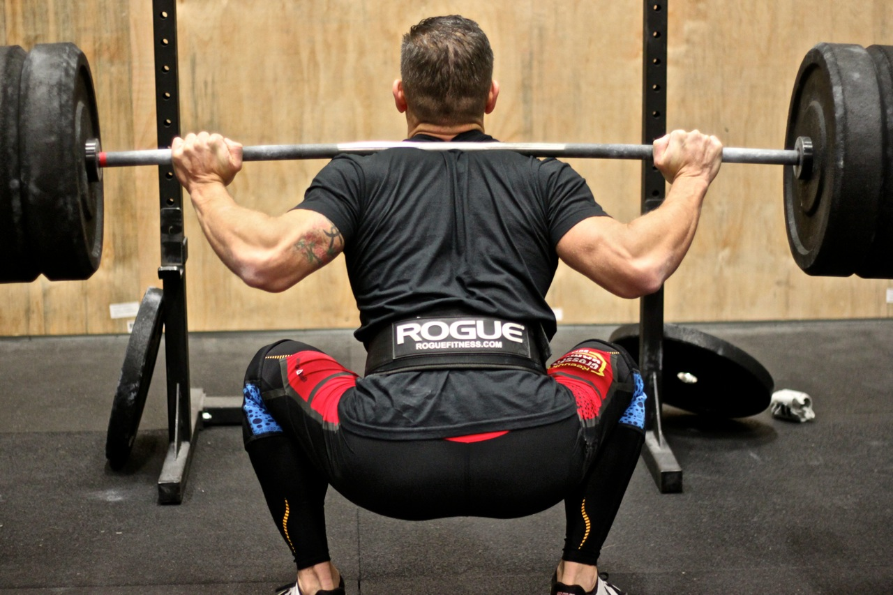 Back Squat 4-4-4-4-4 & FT: Rows, Back Squats and Lateral