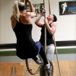 Rope Climbs_Jenna and Kimberlee