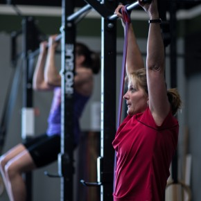SnoRidge CrossFit - Kristy Pull-up by Rob W