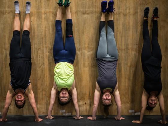 SnoRidge CrossFit - Shay 100 WOD by Rob W