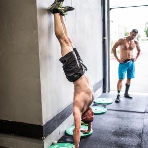 SnoRidge CrossFit_HSPU_by Rob W