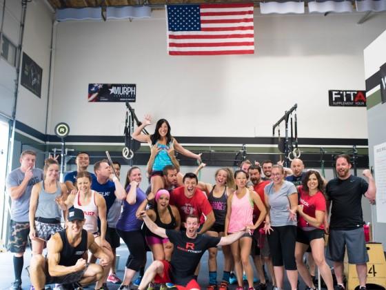 SnoRidge CrossFit _Kelby BDay WOD_by Rob W
