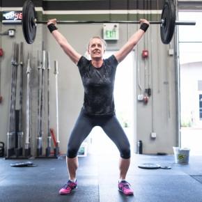 SnoRidge CrossFit_OHS_Kelli