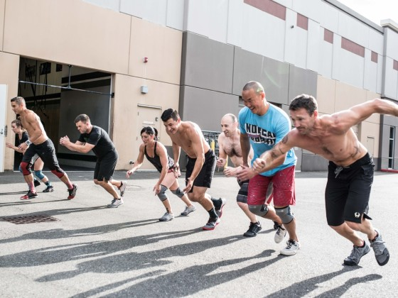 SnoRidge CrossFit_Starting line by Rob W
