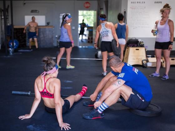 SnoRidge CrossFit_Team WOD by Rob W