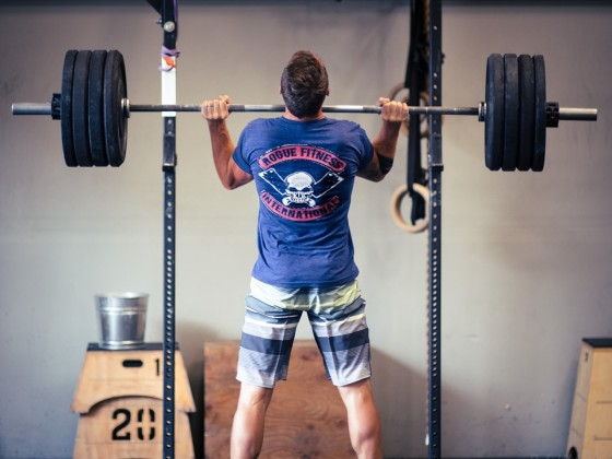 SnoRidge CrossFit_Thruster by Rob W
