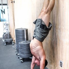 SnoRidge CrossFit_HSPU by Rob W