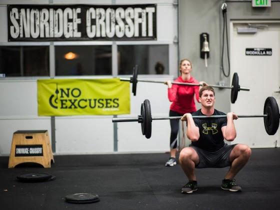 SnoRidge CF_Front Squats