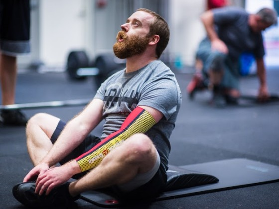SnoRidge CrossFit_AbMat Sit-Up