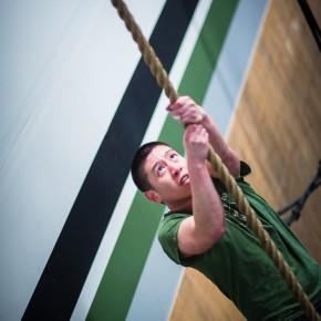 SnoRidge CrossFit_Rope Climb