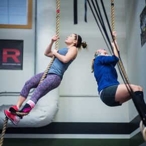 SnoRidge CrossFit_Rope Climbs_Sisson
