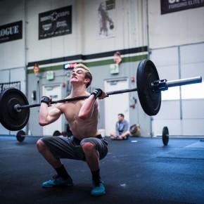 SnoRidge CrossFit_16.5 Thruster